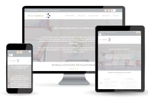 nouveau site pour notre bureau d'études en plasturgie